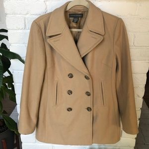 Banana Republic Wool Peacoat SZ M